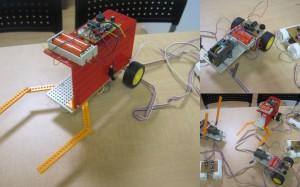 ロボット工作の画像